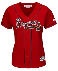 Majestic Women's Atlanta Braves Cool Base Jersey