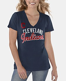 G-III Sports Women's Cleveland Indians Finals T-Shirt