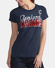 G-III Sports Women's Cleveland Indians Homeplate T-Shirt