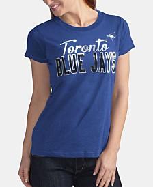 G-III Sports Women's Toronto Blue Jays Homeplate T-Shirt