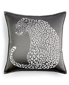 "Home Design Studio Leopard 18"" x 18"" Decorative Pillow"