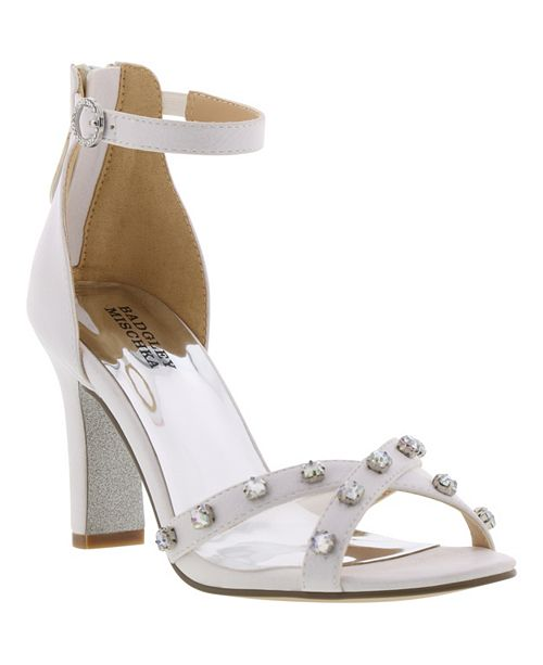4eefdb5b6 Badgley Mischka Little & Big Girls Kendall Glam Dress Heel & Reviews ...