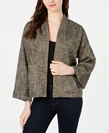 Eileen Fisher Open-Front Jacket