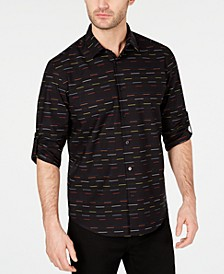 Men's Skip Stripe Shirt, Created for Macy's