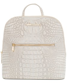 Brahmin Felicity Melbourne Embossed Leather Backpack