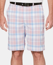 PGA TOUR Men's Plaid Shorts