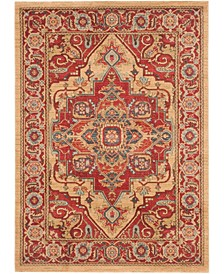 Mahal Red and Natural 10' x 14' Area Rug