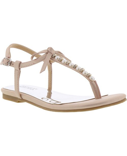 Badgley Mischka Little & Big Girls Cara Emily Sandal