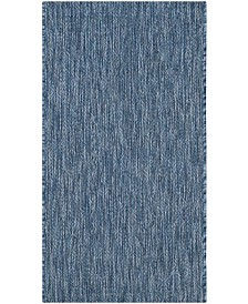 "Safavieh Courtyard Navy 2' x 3'7"" Area Rug"