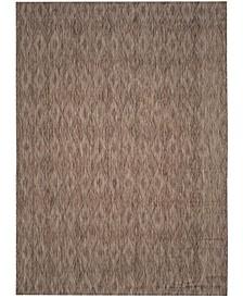 Courtyard Brown 8' x 11' Sisal Weave Area Rug