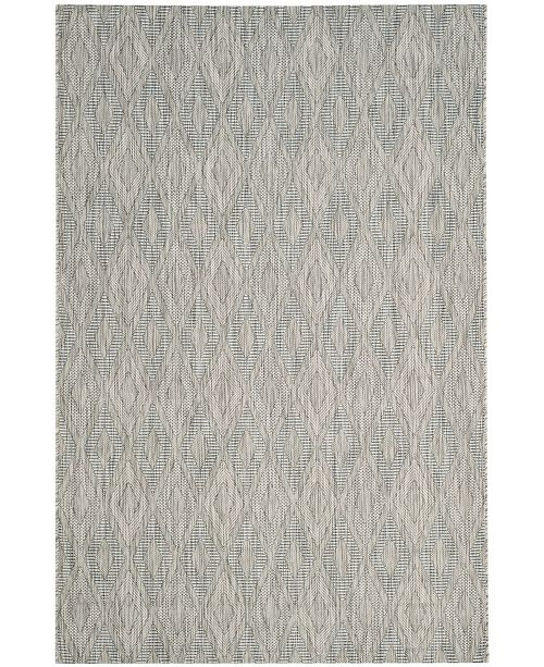 "Safavieh Courtyard Gray 4' x 5'7"" Sisal Weave Area Rug"