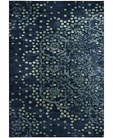 "Constellation Vintage Blue and Multi 8' x 11'2"" Area Rug"