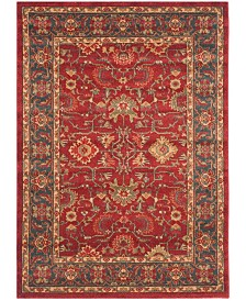 Safavieh Mahal Red and Navy 10' x 14' Area Rug