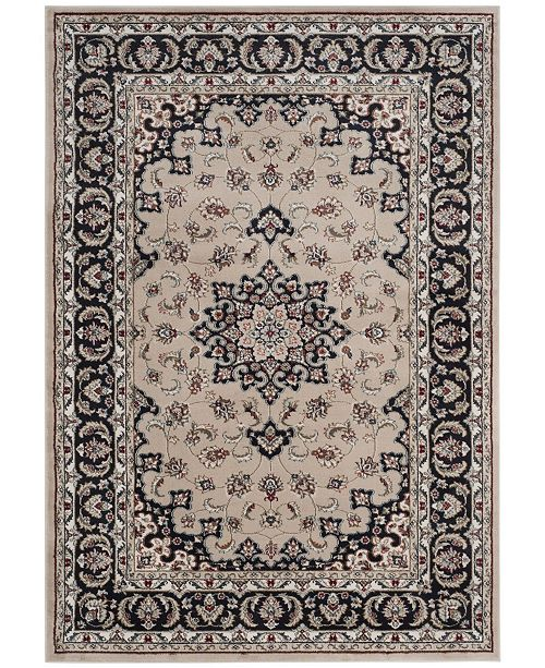Safavieh Lyndhurst Cream and Anthracite 4' x 6' Area Rug