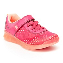 Toddler & Little Girls Made2Play Lighted Neo Sneakers