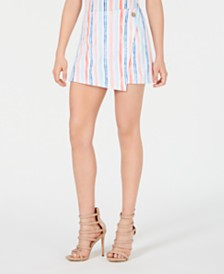 XOXO Juniors' Striped Skort