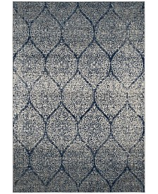 Safavieh Madison Navy and Silver 10' x 14' Area Rug
