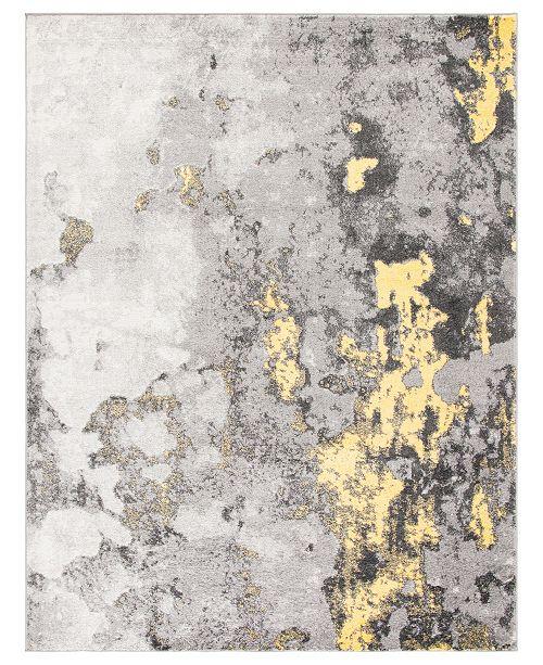 Safavieh Adirondack Gray and Yellow 8' x 10' Area Rug