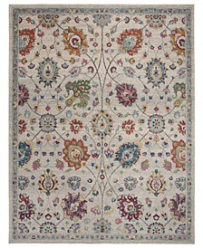 Merlot Cream and Multi 9' x 12' Area Rug