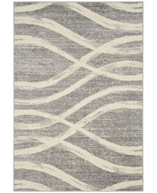 Adirondack 125 Gray and Cream Area Rug Collection