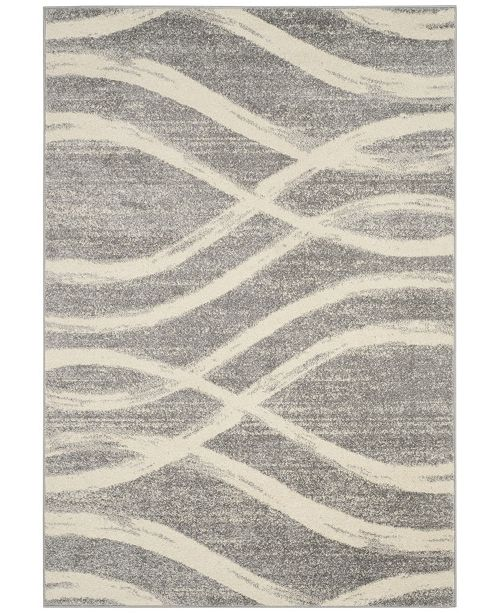 Safavieh Adirondack Gray and Cream 10' x 14' Area Rug