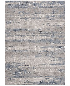 Safavieh Meadow Gray and Navy 8' x 10' Area Rug
