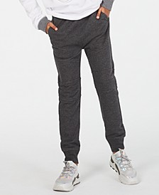 Big Boys Moto Knit Jogger Pants, Created for Macy's