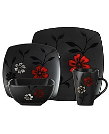 16 Piece Evening Blossom Dinnerware Set