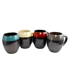 4 Piece 19.5 Ounce Mug Set