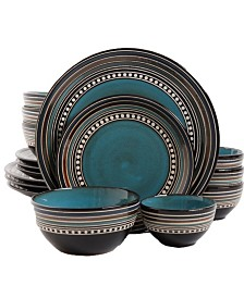 Cafeacute Versailles 16 Piece Double Bowl Dinnerware Set