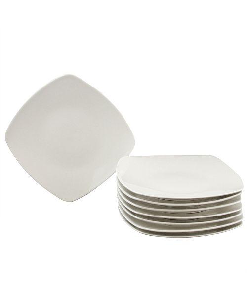 Zen Buffetware 8 Piece Salad Plate