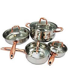 Sunbeam Branson 8 Piece Cookware Set with Handles