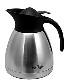 Mr. Coffee Cache 1.5 Quart Double Wall Vacuum Sealed Coffee Pot