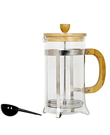Bamboo Cafeacute 33 Ounce Coffee Press with Scoop