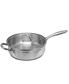 Oster Cuisine Saunders 4.2 Quart Sauteacute Pan with Lid