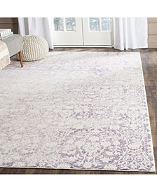 Passion Lavender and Ivory 8' x 11' Area Rug