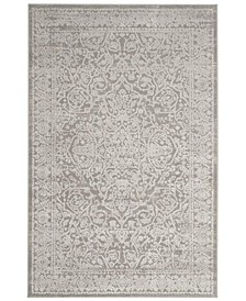 Princeton Gray and Beige 4' x 6' Area Rug