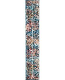 "Safavieh Vintage Persian Turquoise and Multi 2'2"" x 10' Runner Area Rug"