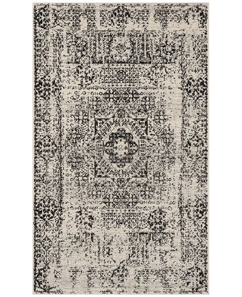 Safavieh Evoke Ivory and Black 3' x 5' Area Rug