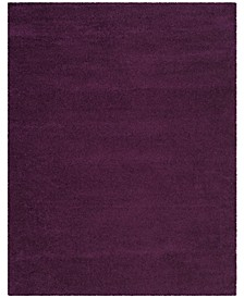 Santa Monica Shag Purple 8' X 10' Area Rug