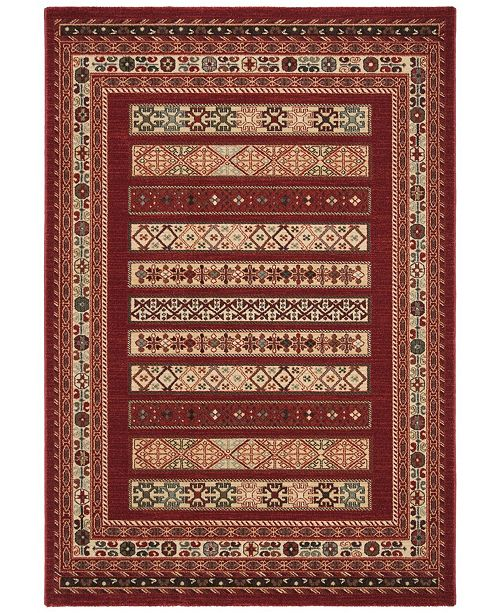 "Safavieh Mahal Red and Creme 5'1"" x 7'7"" Area Rug"