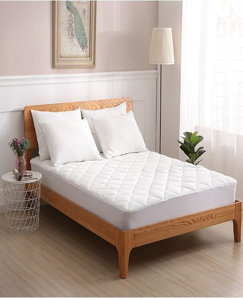 St. James Home Cooling Knit Mattress Pad Twin
