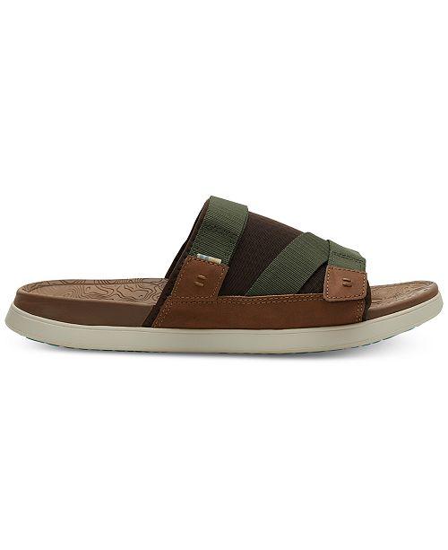 TOMS Men's TRVL LITE Slide Sandals