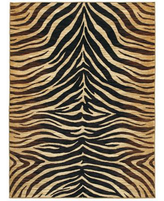 Shaw Living Rugs, American Abstracts Collection 05500 Lisbon Black