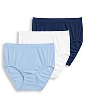 7905eeea344c Jockey® Women's 3-Pk. Seamfree® Breathe Knit Briefs 1681