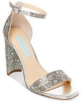 d47578d8e Silver Bridal Shoes and Evening Shoes - Macy s