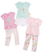 fdde0b745 First Impressions Baby Girls Animal T-Shirts, Shorts & Printed Leggings  Separates, Created