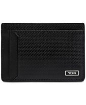 85ce9ff31a0a Tumi Men's Monaco Leather Money Clip Card Case