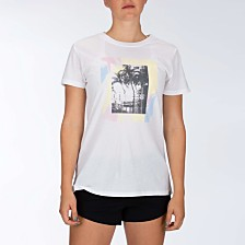Hurley Juniors' Cotton Graphic-Print T-Shirt