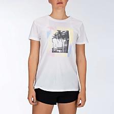 Hurley Juniors' Cotton Graphic-Print T-Shirt